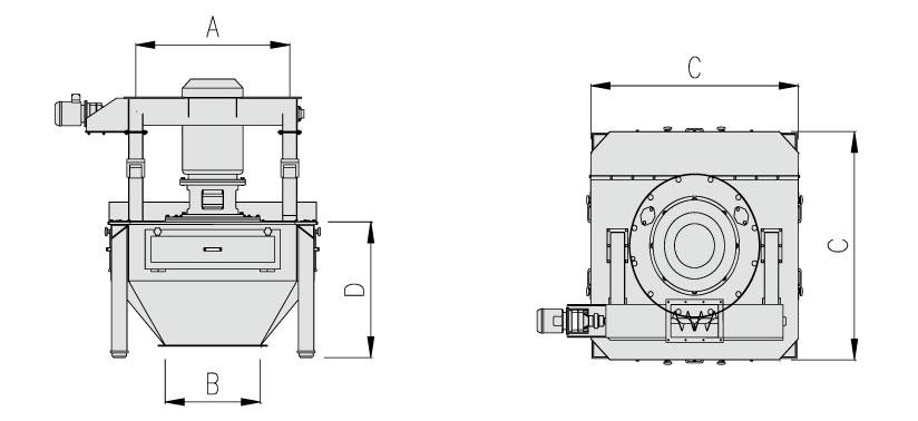 Molino TCMV 1500 - Datos técnicos - Tallers Cuñat
