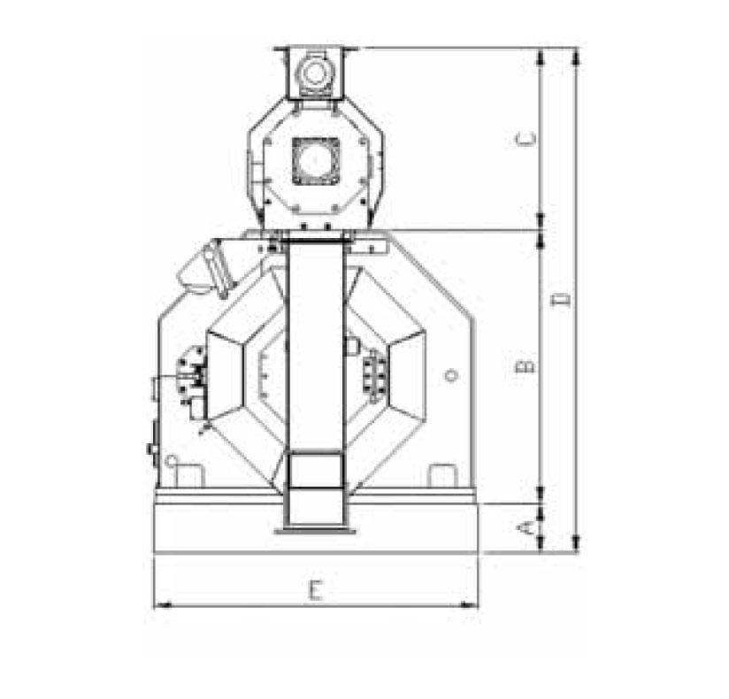 Prensas granuladoras - Datos técnicos - Tallers Cuñat